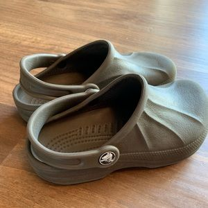 Crocs Brown Size 1